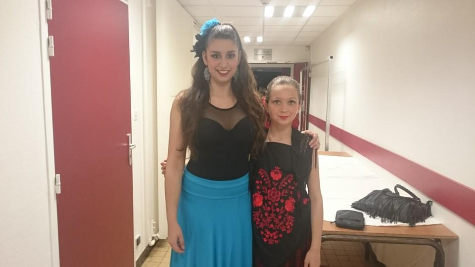 Orlana et Floriane au Concours Régional de Danse CND
