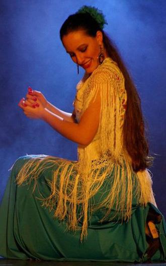Le Flamenco par Aurore Marin