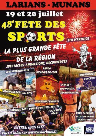 48e fête des sports de Larians